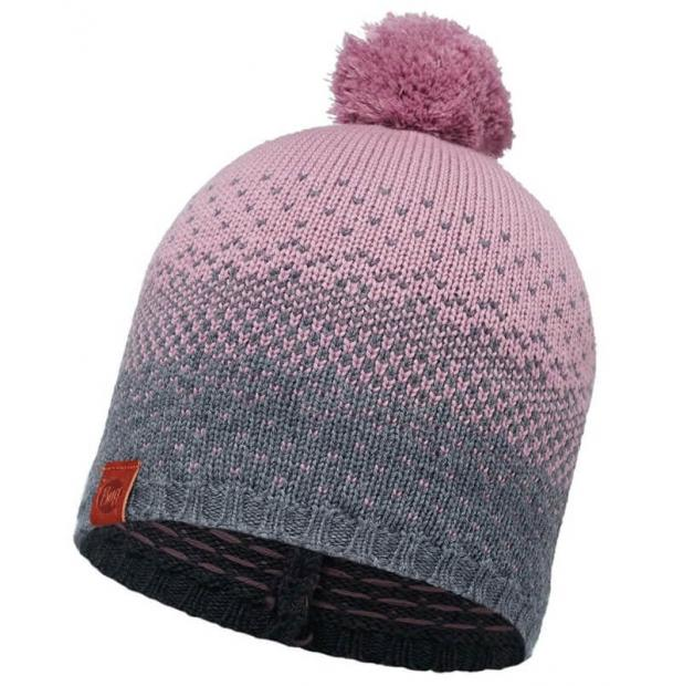 Шапка Buff Knitted Hat Mawi Lilac Shadow-Shadow Purple