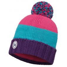Шапка Buff Knitted & Polar Hat Berna Plum / Mardi Grape