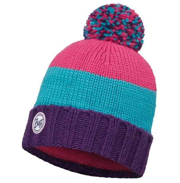 Шапка Buff Knitted & Polar Hat Berna Plum / Mardi Grape