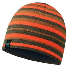 Шапка Buff Knitted & Polar Hat Lakistripes Fossil