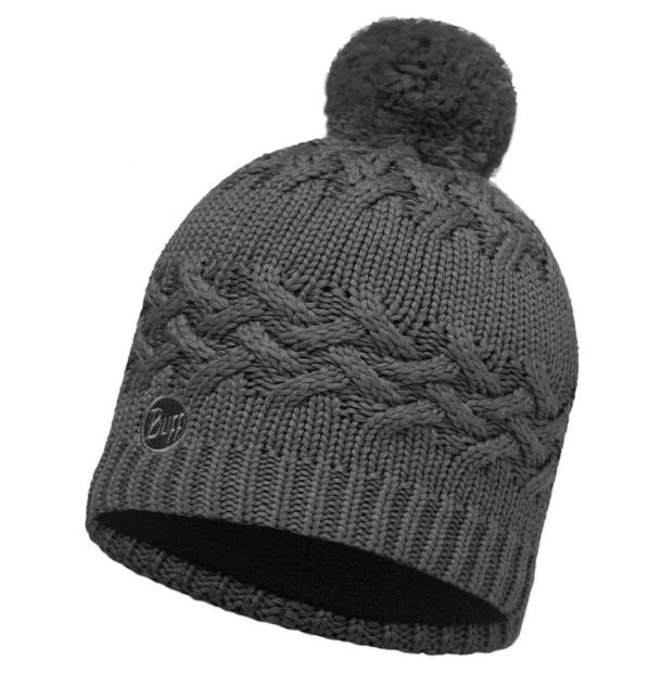 Шапка Buff Knitted & Polar Hat Savva Grey Castlerock