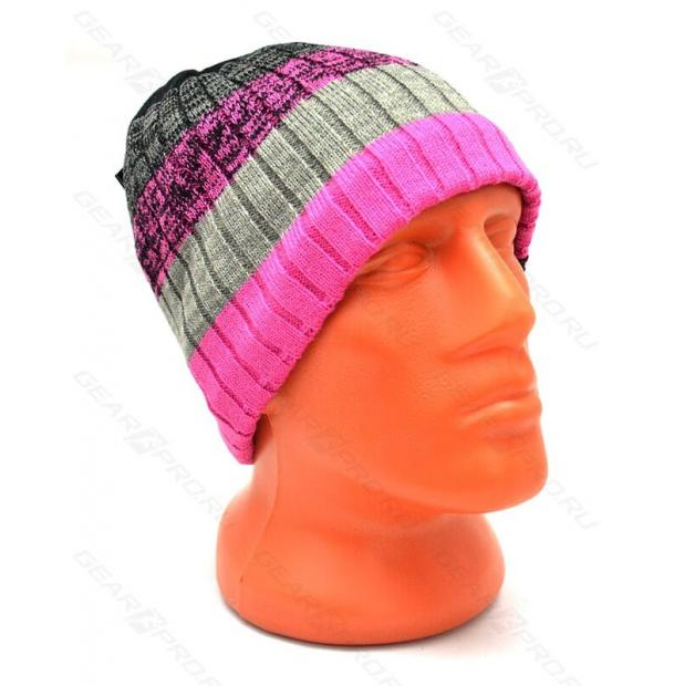 Шапка водонепроницаемая DexShell Waterproof Beanie Gradient Pink