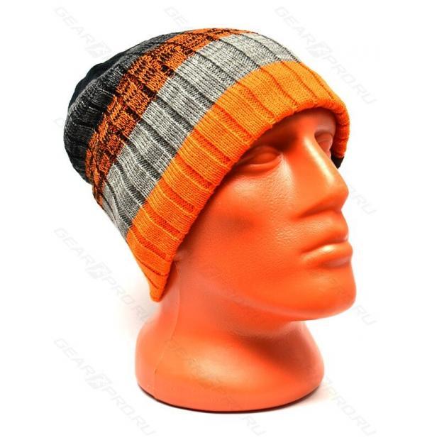 Шапка водонепроницаемая DexShell Waterproof Beanie Gradient Orange