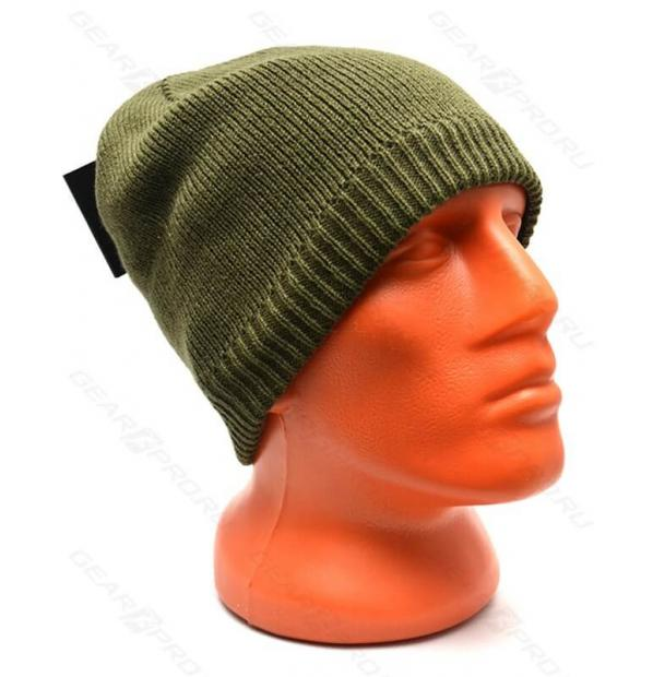 Шапка водонепроницаемая DexShell Waterproof Beanie Solo Olive Green