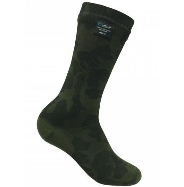 Носки водонепроницаемые Dexshell Waterproof Camouflage Socks XL