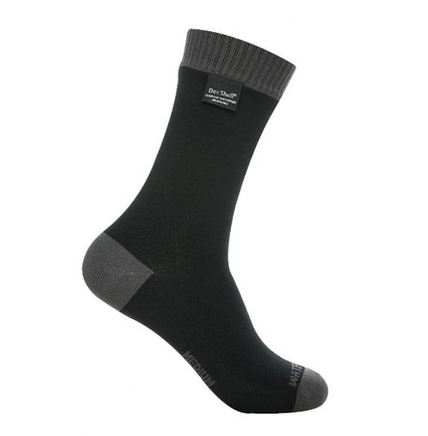 Носки водонепроницаемые DexShell Waterproof Coolvent Lite Socks Grey S
