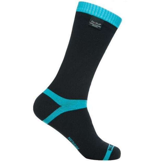 Носки водонепроницаемые Dexshell Waterproof Coolvent Socks Aqua Blue L