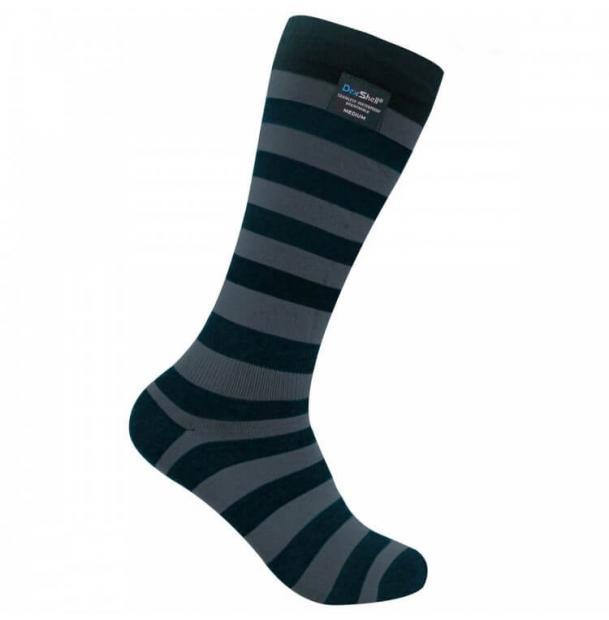 Носки водонепроницаемые Dexshell Longlite Bamboo Grey Socks размер L
