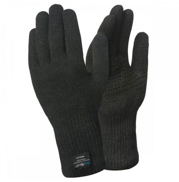 Перчатки водонепроницаемые Dexshell Waterproof ToughShield Gloves Black M DG458BM