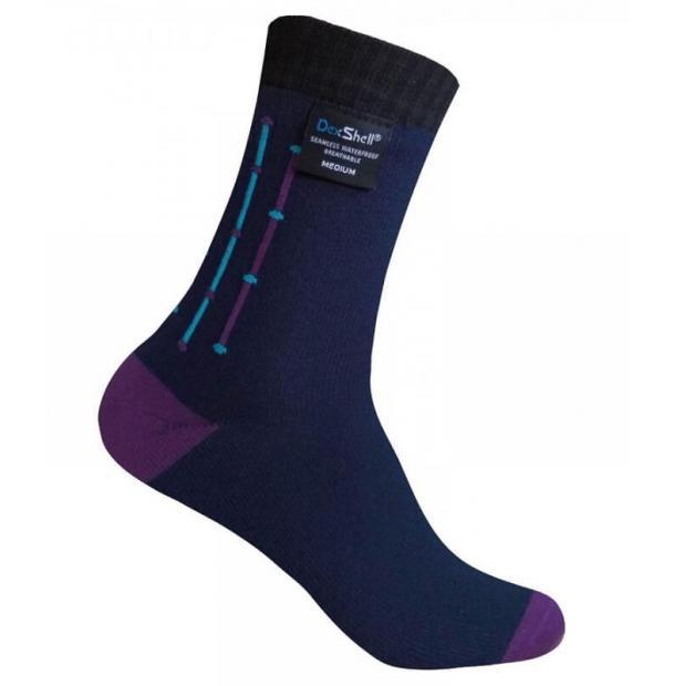 Носки водонепроницаемые Dexshell Waterproof Ultra Flex Navy Socks L