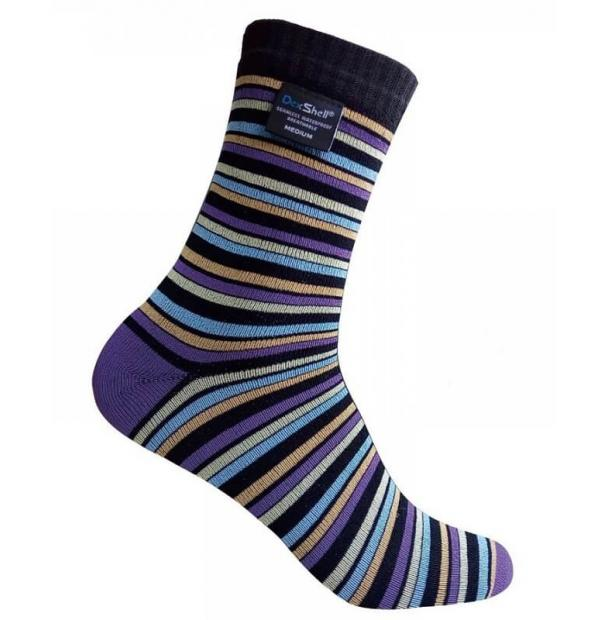 Носки водонепроницаемые  Dexshell Waterproof Ultra Flex Stripe Socks XL