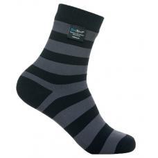 Носки водонепроницаемые Dexshell Waterproof Ultralite Bamboo Socks Grey Stripe L