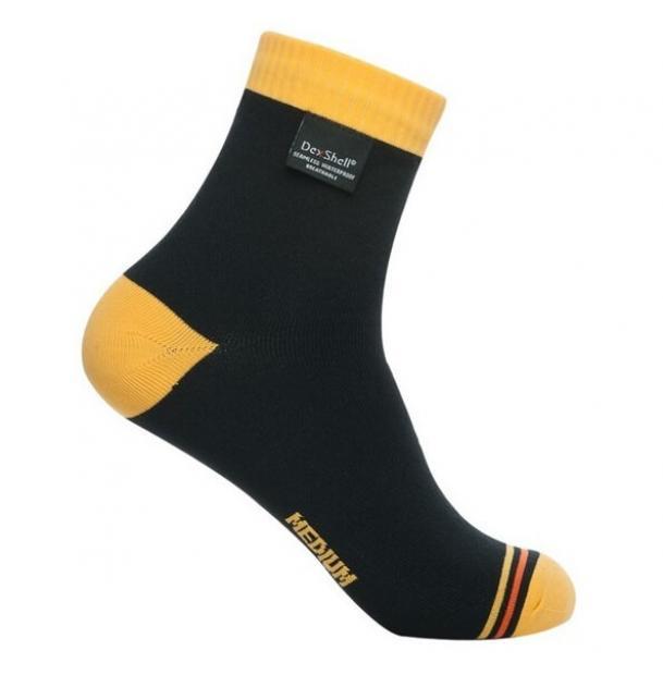 Носки водонепроницаемые Dexshell Ultralite Biking Vivid Yellow S