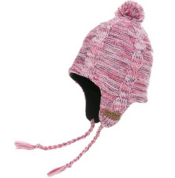 Шапка водонепроницаемая Dexshell Waterproof Beanie Earflap Orchid Heather DH392-OH