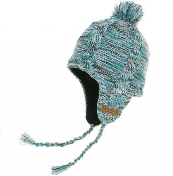 Шапка водонепроницаемая Dexshell Waterproof Beanie Earflap Sky Heather