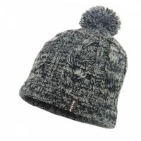 Шапка водонепроницаемая Dexshell Waterproof Beanie Grey Cable Pompom