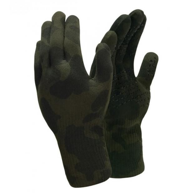Перчатки водонепроницаемые Dexshell Waterproof Camouflage Gloves L