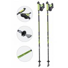 Карбоновые телескопические палки для скандинавской ходьбы Ecos AQD-B018A