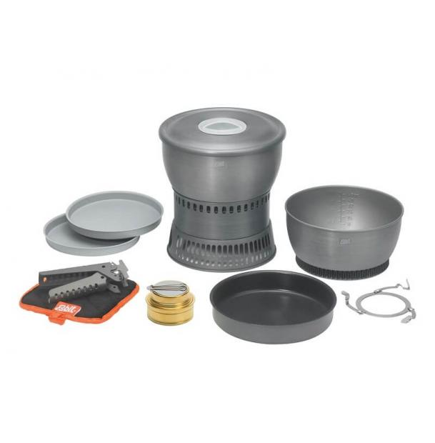 Горелка спиртовая + набор посуды Esbit Cookset 1.8L / 2.35L