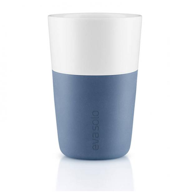 Набор из двух чашек Eva Solo Cafe Latte Tumbler Moonlight Blue