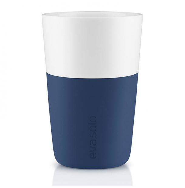 Набор из двух чашек Eva Solo Cafe Latte Tumbler Navy Blue