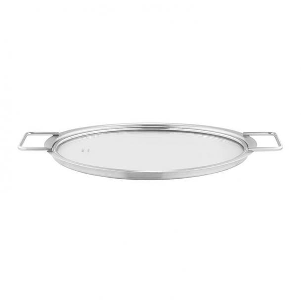 Крышка стеклянная Eva Solo Lid Stainless Steel/Glass 24cm