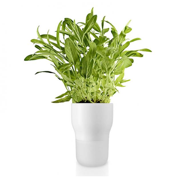 Горшок для растений Eva Solo Self-Watering Flowerpot D11 White