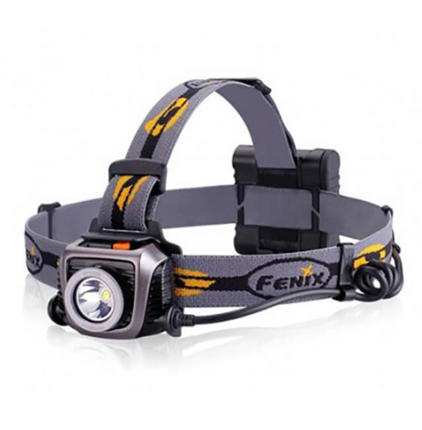 Налобный фонарь Fenix HP15UE Grey