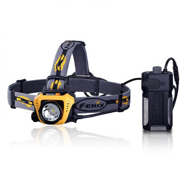 Налобный фонарь Fenix HP30 Yellow