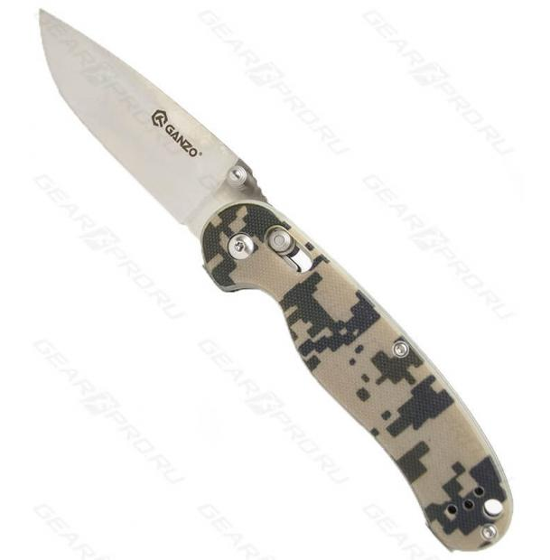Нож Ganzo G727M Khaki