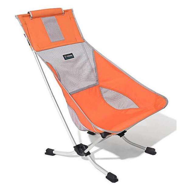 Стул складной туристический Helinox Beach Chair Golden Poppy 1047121-gp