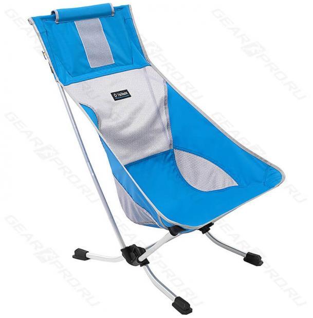 Стул складной туристический Helinox Beach Chair Swedish Blue 1047121-sb