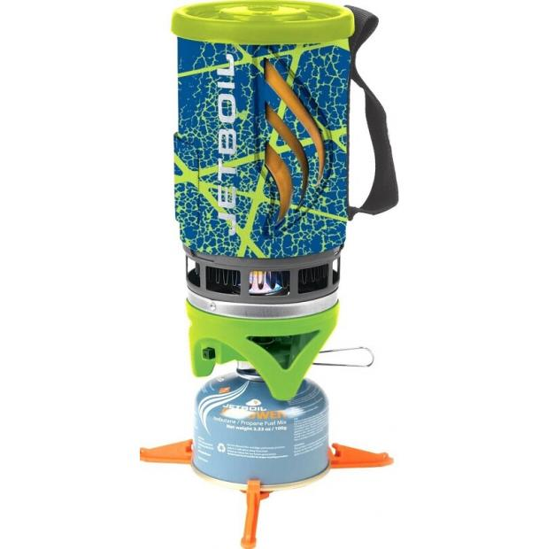 Газовая Горелка Jetboil FLASH Cooking System Blue Desert