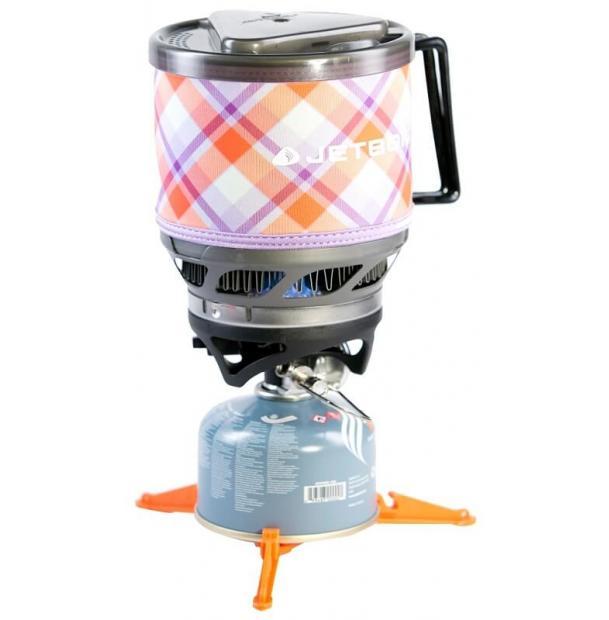 Газовая Горелка Jetboil MINIMO Cooking System Yama Purple Plaid JB-MNMO-YPP