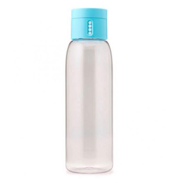 Пластиковая бутылка Joseph Joseph 0.6L Dot Light Blue