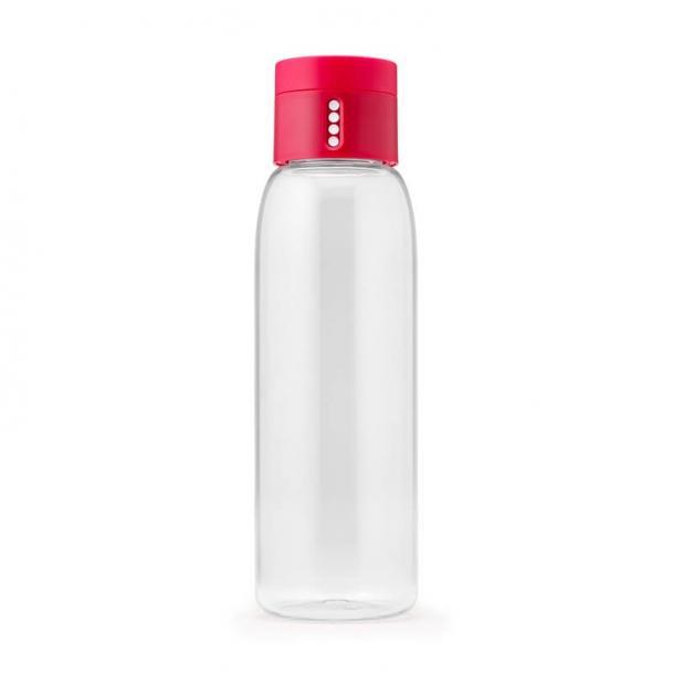 Пластиковая бутылка Joseph Joseph 0.6L Dot Pink