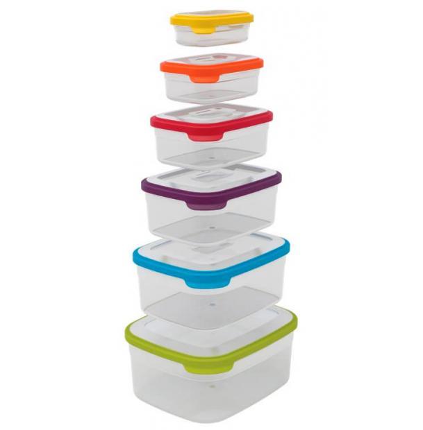 Набор контейнеров для хранения продуктов Joseph Joseph Nest 6