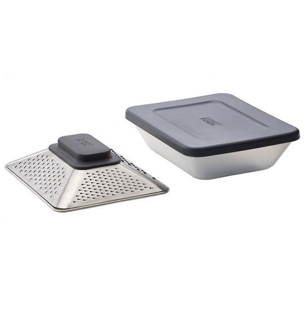 Терка Joseph Joseph Prism Box с контейнером для хранения и крышкой