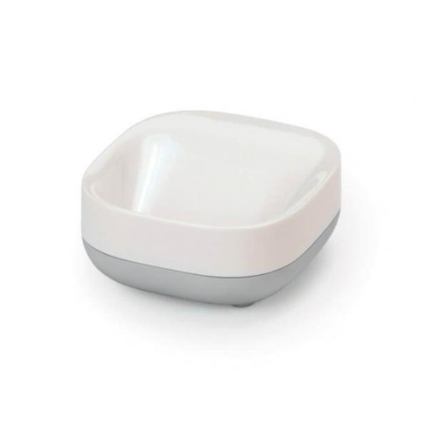 Мыльница Joseph Joseph Slim Soap Dish White-Grey