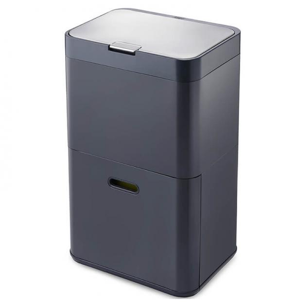 Контейнер для раздельного сбора мусора Joseph Joseph  Totem 48L Graphite