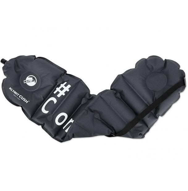 Подушка/сиденье туристическая надувная Klymit Cush ComfyFan Black 12CUSS01