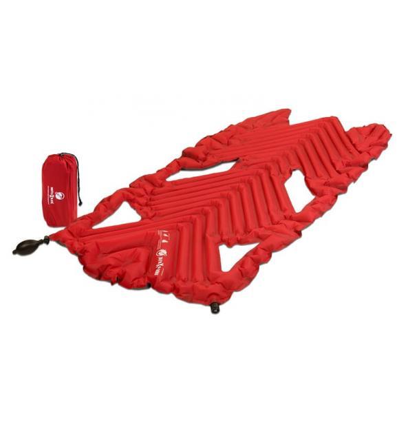 Коврик туристический надувной Klymit Inertia X Wave Red