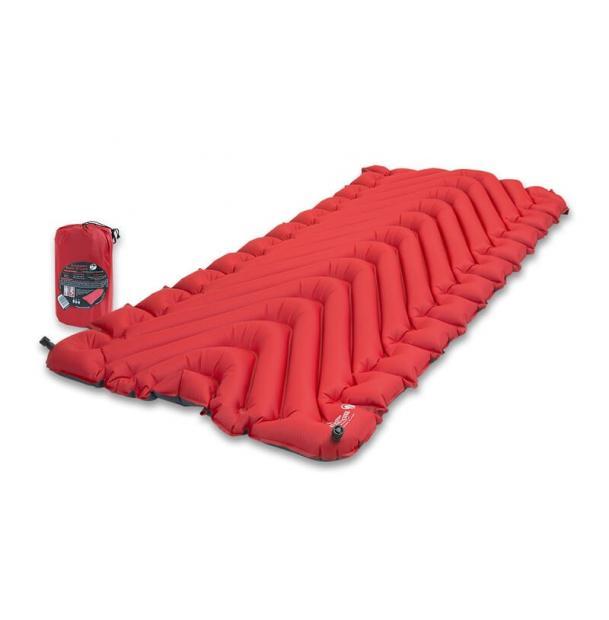 Коврик туристический надувной Klymit Insulated Static V Luxe Red