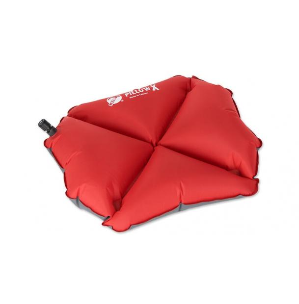 Подушка туристическая надувная Klymit Pillow X Red