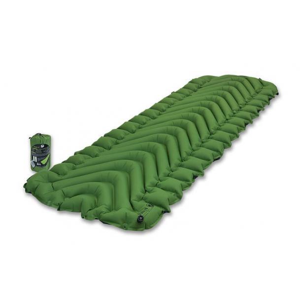 Коврик туристический надувной Klymit Static V Green