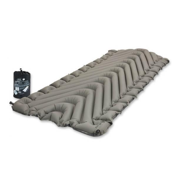 Коврик туристический надувной Klymit Static V Luxe Grey