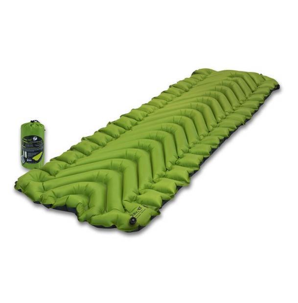 Коврик туристический надувной Klymit Static V2 Green