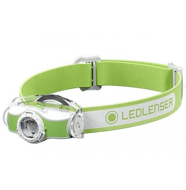 Налобный фонарь Led Lenser MH3 Green (501593)