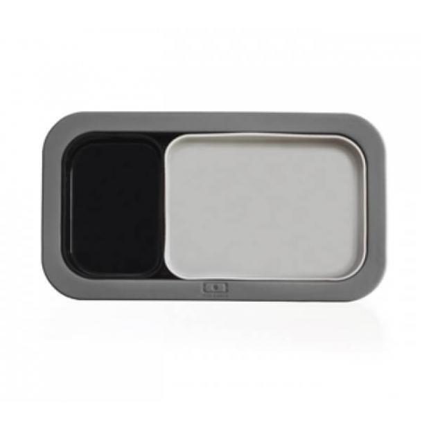 Форма для выпечки Monbento MB Silicase Grey + Black
