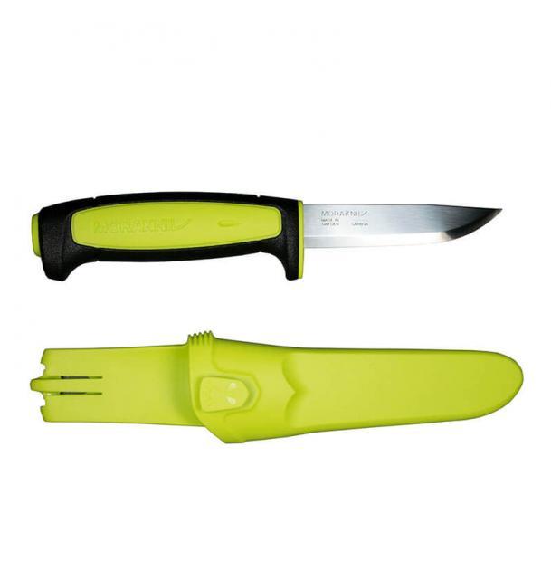 Нож Mora Basic 511 Black-Lime 12975